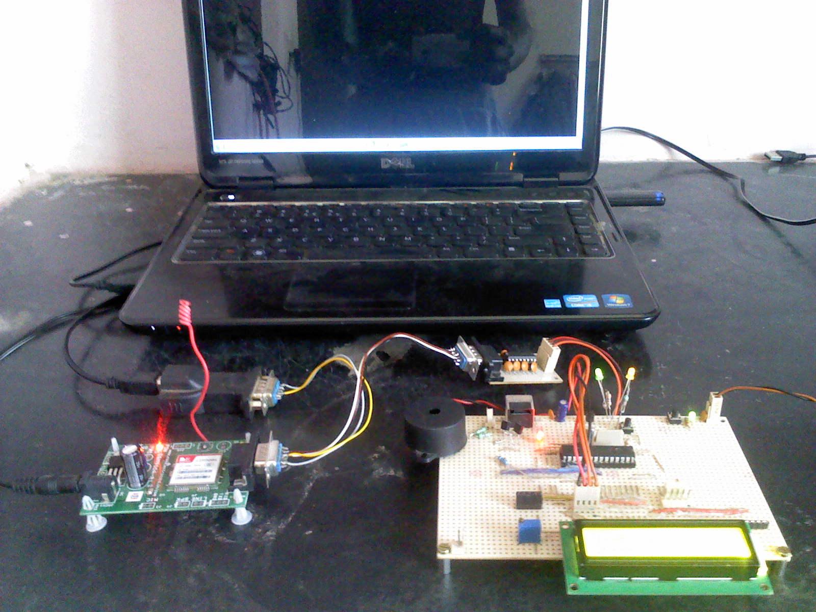PIC microcontroller with SIM900 A GSM Module C Code ( Revera v1 0