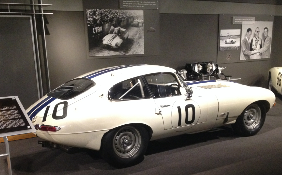 poeschl on cars : Racing Improves the Breed: Cunningham\'s Jaguar E ...