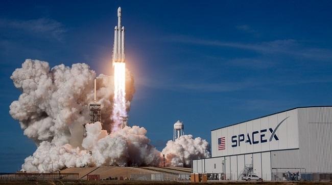 Lançamento da SpaceX/Reprodução