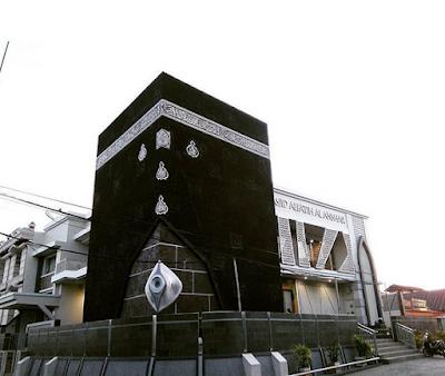 Berkunjung Ke Masjid Berbentuk Kakbah | Wisata Religi Makassar