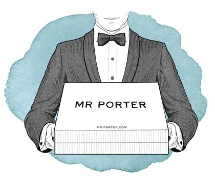 خصم 50% على الازياء الرجالى من mr porter