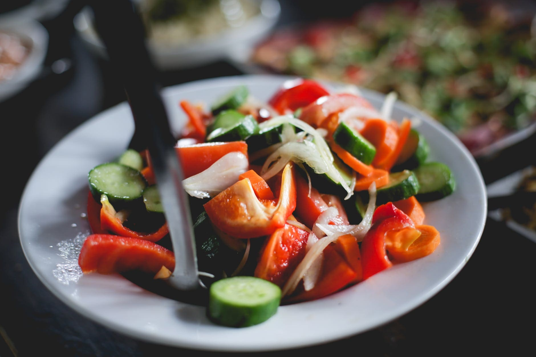 How to make a healthy pepper salad