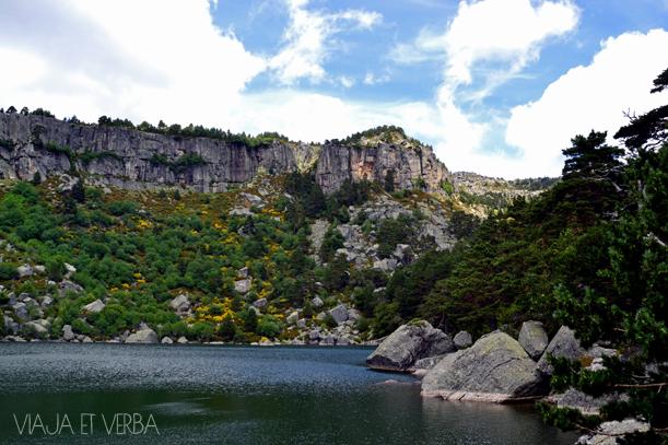 Laguna Negra desde el sendero, Soria. Por Viaja et Verba