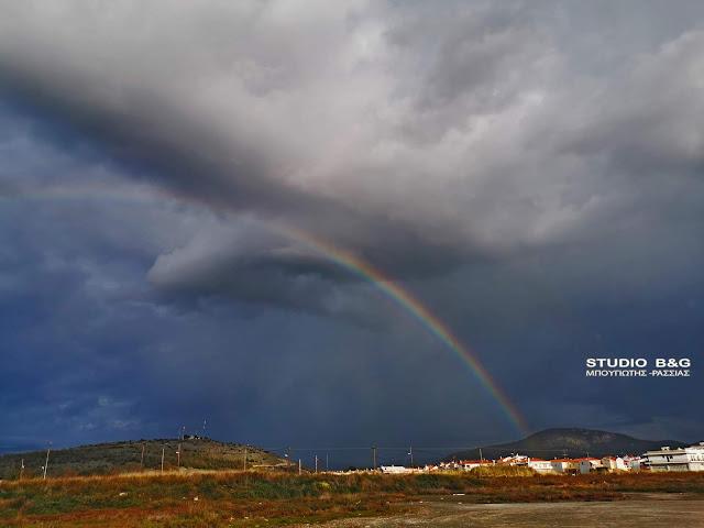 Ουράνιο τόξο στο Ναύπλιο - Το ξέρετε οτι υπάρχει και νυχτερινό ουράνιο τόξο;