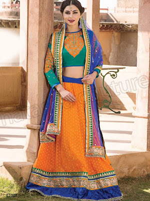 Lehenga Choli, Stylish Lehenga Designs, Party Wear, Wedding Lehengas, Indian Lehenga Designs, Lehenga Designs 2016.