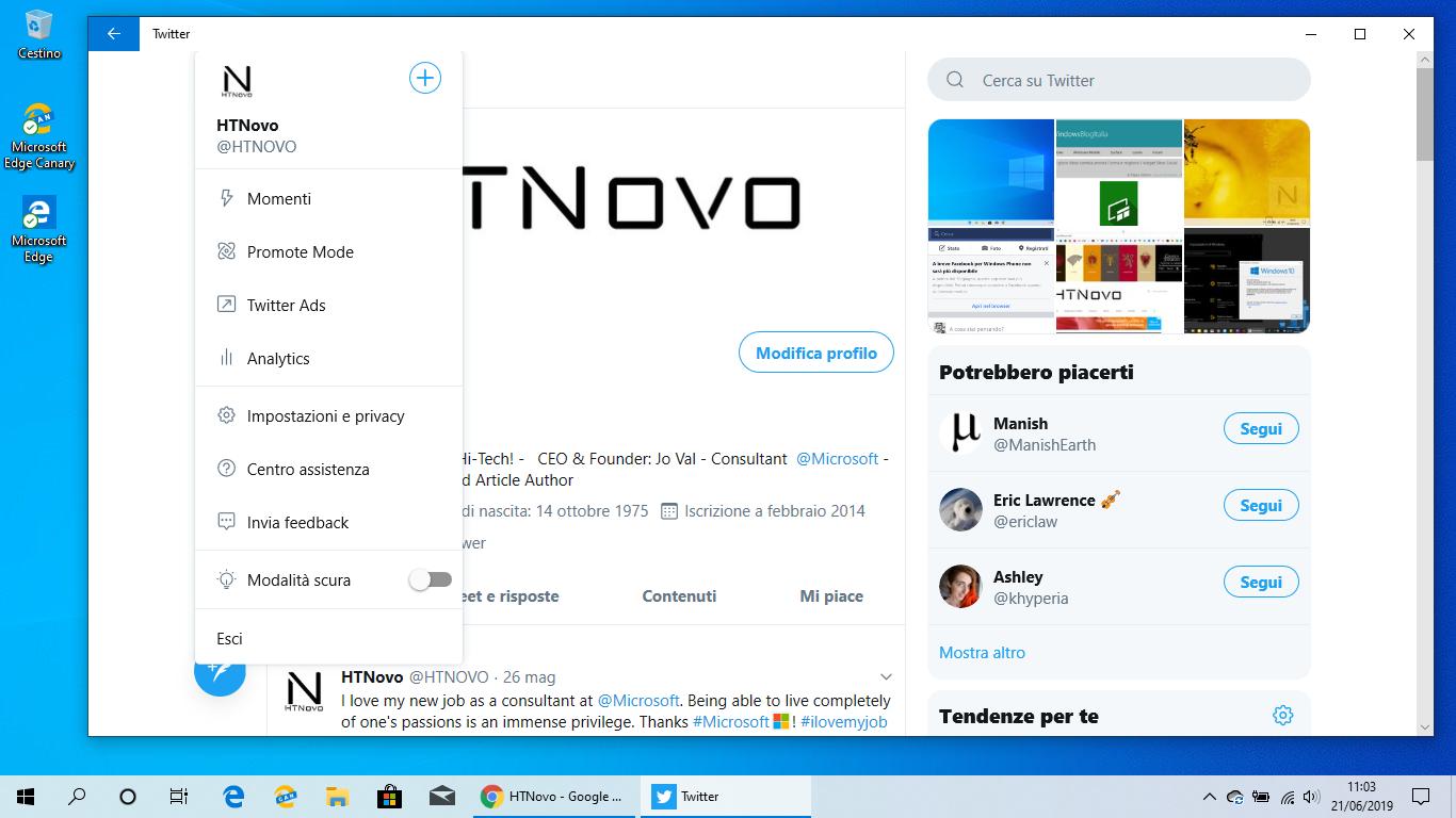 Twitter-pwa-nuovo-menu