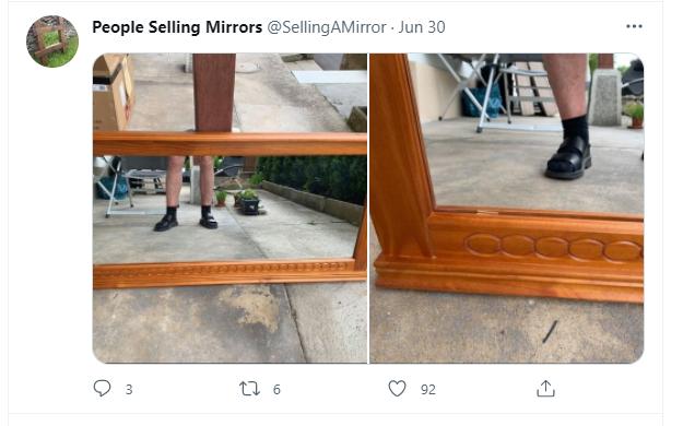 selling mirror