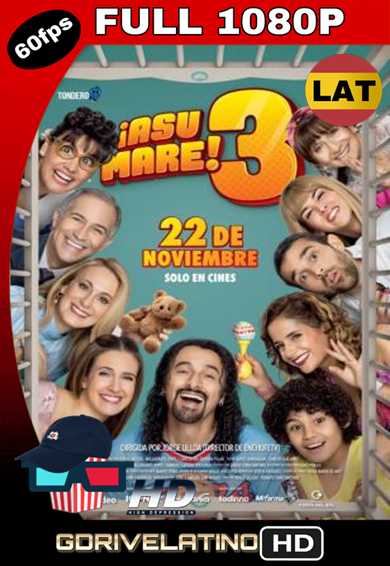 ¡Asu Mare! 3 (2018) BRRip FULL 1080p Latino MKV