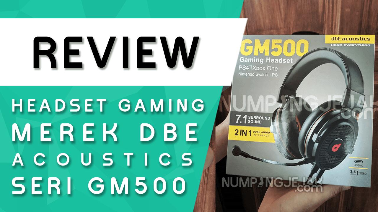 Unboxing dan Review Ulasan Headset Gaming dbE GM500 7.1 Virtual Surround