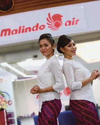 Kebaya manis dan seksi sarung batik Flight Attendance Cabin Crew Pramugari