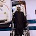 Hotuna: Shugaba Buhari ya dawo Najeriya
