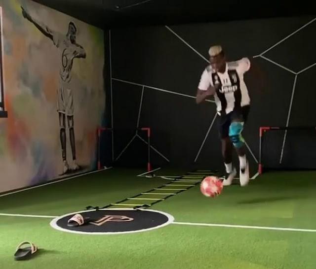 Pogba chọc giận fan MU: Ngang nhiên mặc áo Juventus, lộ lí do ngỡ ngàng 2