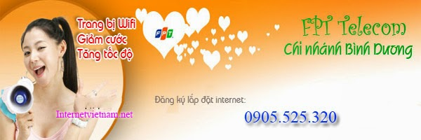 Lắp Mạng Internet FPT Phường Hiệp Thành