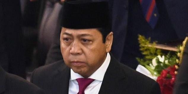 ICW Tolak TSK Korupsi Setnov Baca Teks Proklamasi Saat Upacara 17-an di Istana