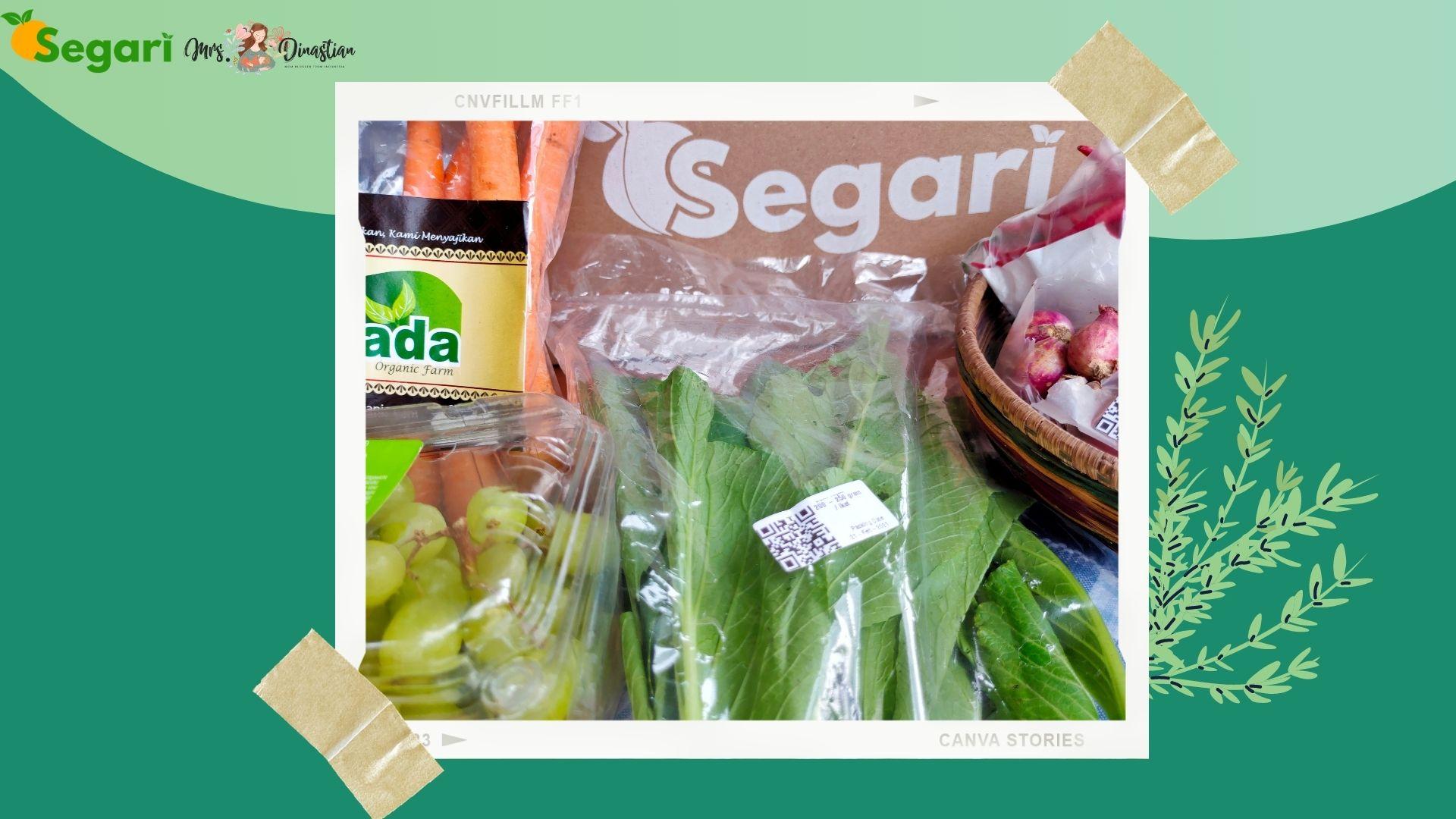 Belanja Sayur di Segari.id