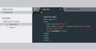 Deklarasikan Tag HTML