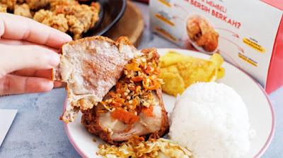 Ayam Geprek Sambal Taichan