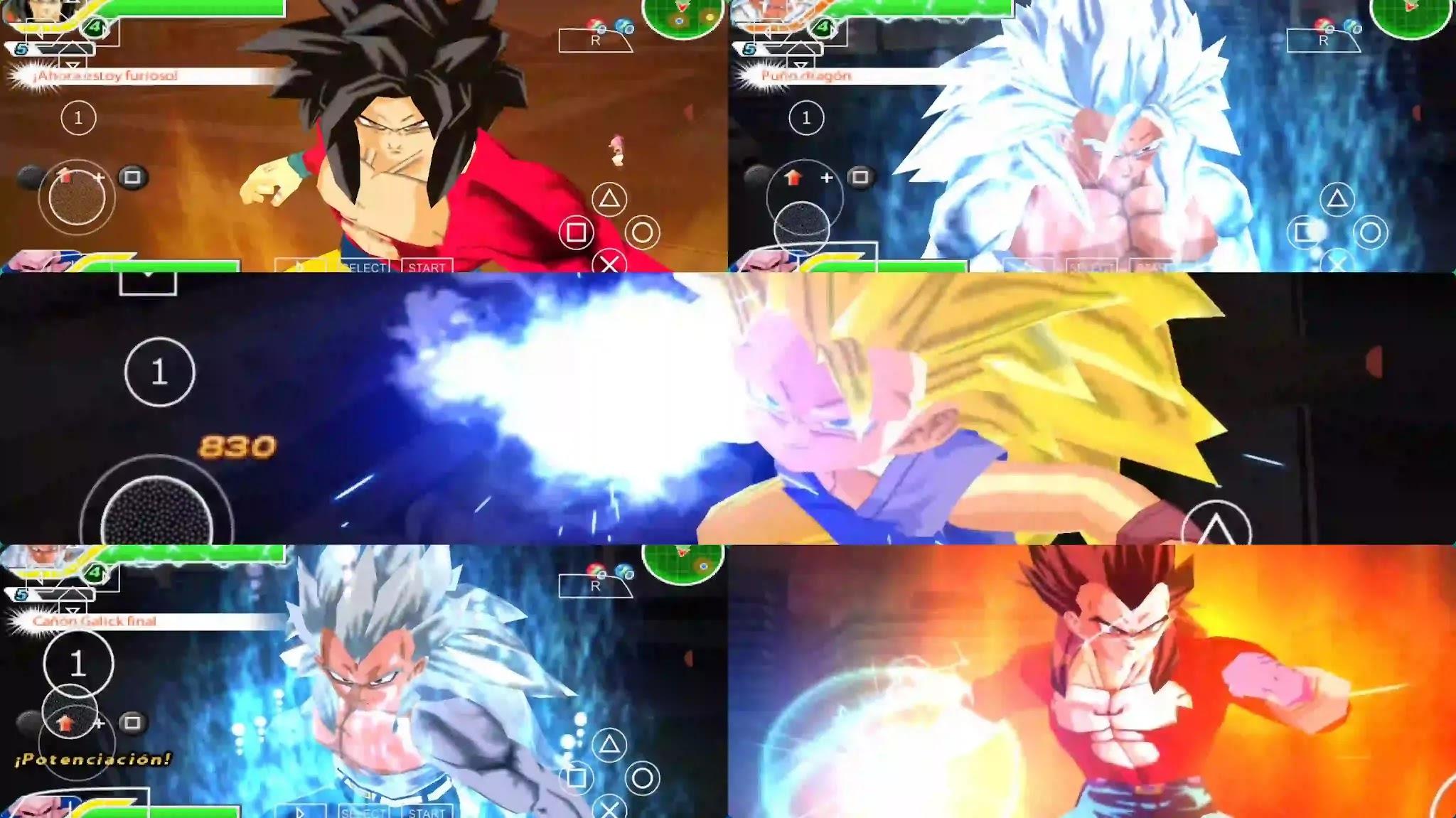 Dragon Ball GT Goku and Vegeta all Forms
