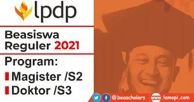 Beasiswa LPDP Reguler 2021
