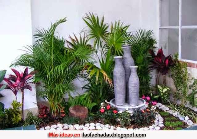Dise o de jardines peque os terrazas y jardines fotos for Como disenar un jardin pequeno