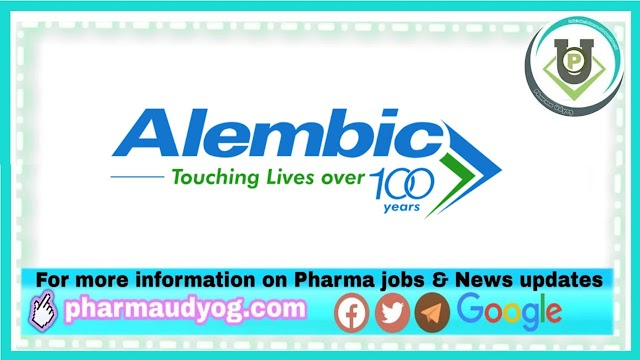 Alembic Pharma | Opportunity for Freshers as Medical representative in PanIndia