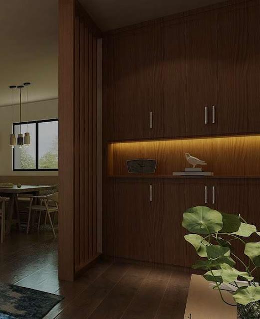 Desain Sekat Ruang Minimalis