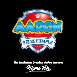 Logo de Paw Patrol: Aaron