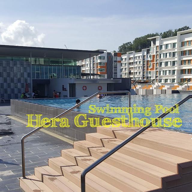 Swimming Pool Homestay di Kota Kinabalu Sabah