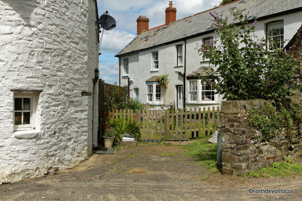 John's Cottage, Bucks Mills, near Clovelly, North Devon. Photo copyright Pat Adams
