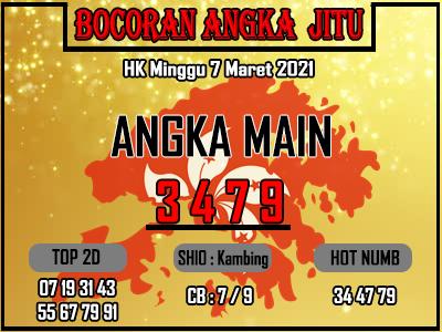 Bocoran HK 2D Minggu 7 Maret 2021