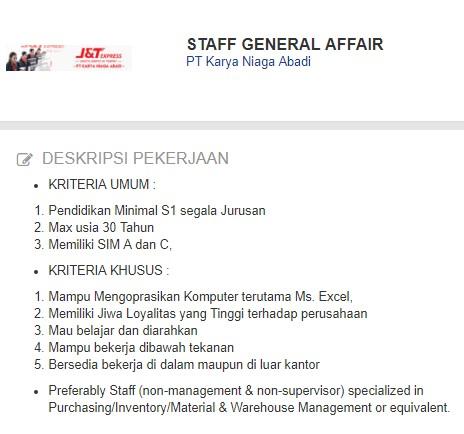 Lowongan Kerja Kabupaten Gresik Jawa Timur Terbaru 2020