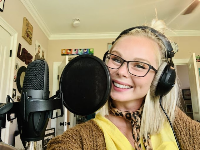 Record a friendly, compelling female voiceover - female voice over online - voice talent library