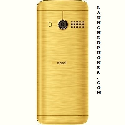 this premium category telephone is launched inwards  Detel D1 Gold best characteristic telephone for you