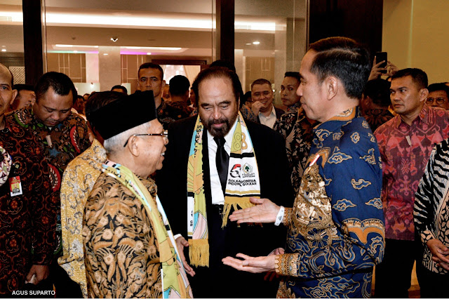 Pengamat: Nasdem Ini Jantung Kekuatan Jokowi