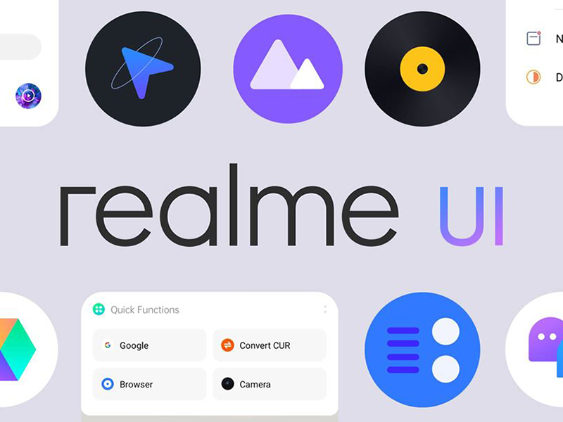 Realme UI focuses on design, functionality, and optimization