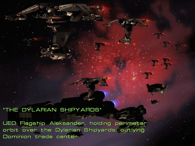 Mission 2: The Dylarian Shipyards.