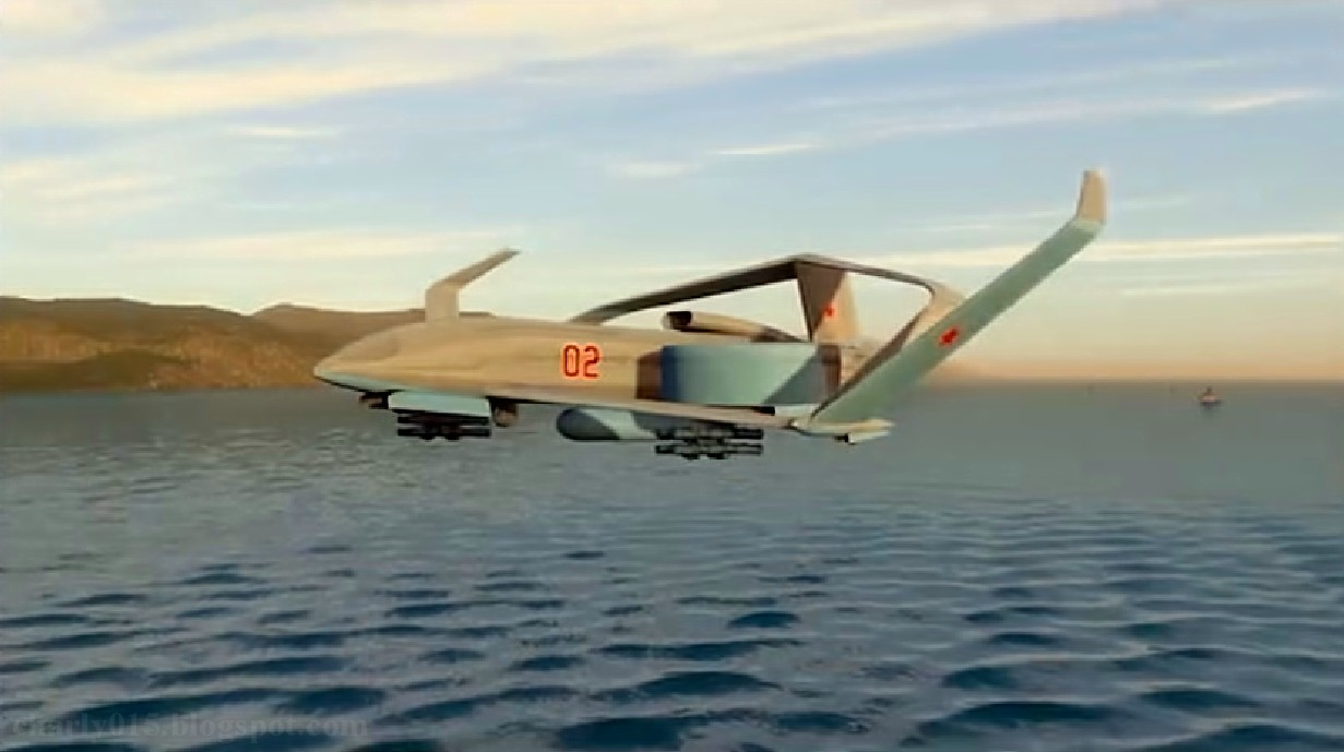 Future russian aircraft carriers. #2 - Page 2 Drone%2Bfregat%2B4