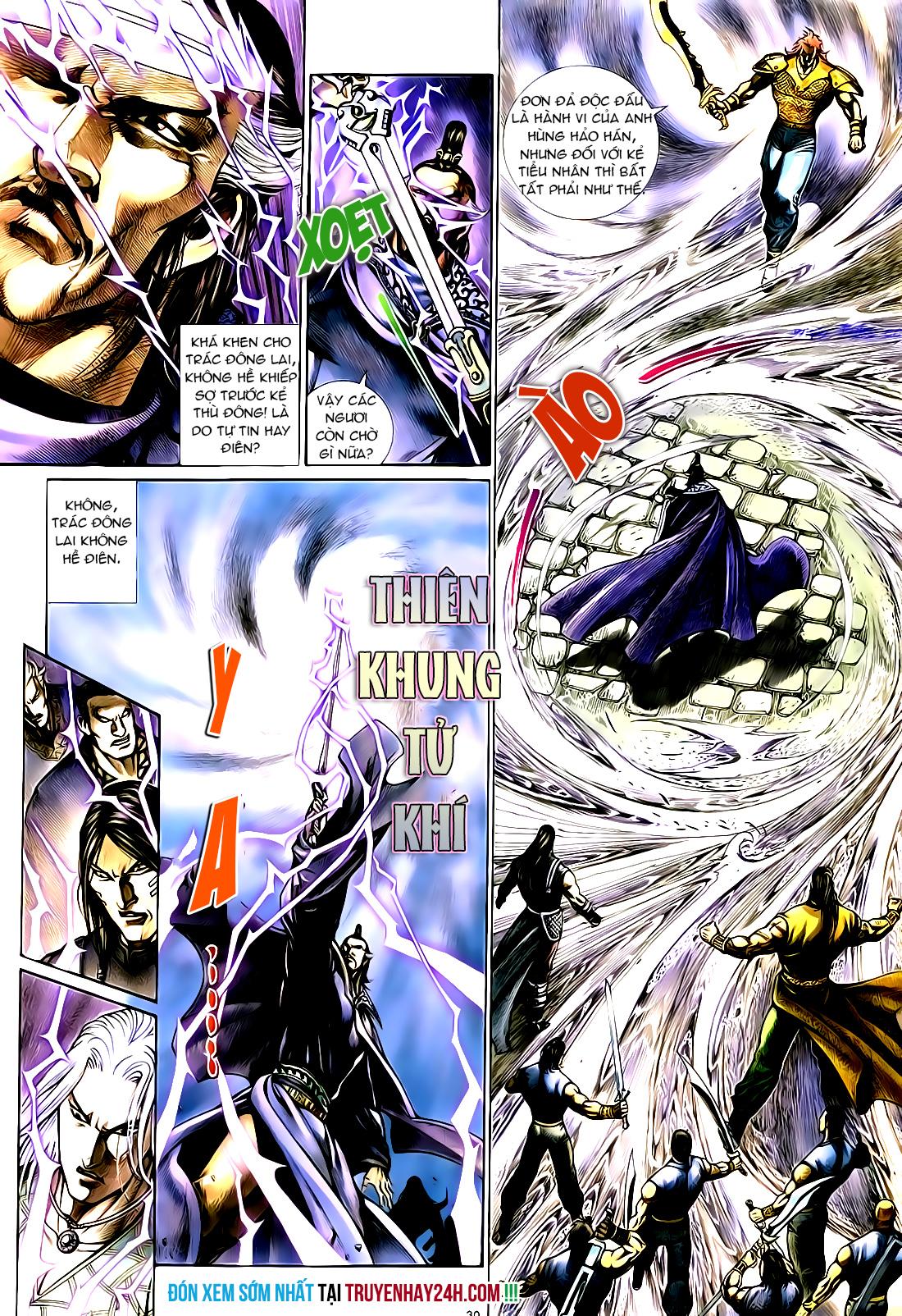Anh hùng vô lệ Chap 21 trang 31