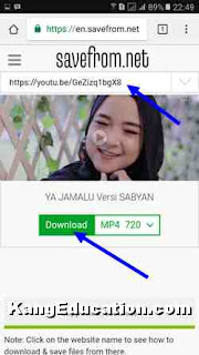 unduh youtube lewat savefrom