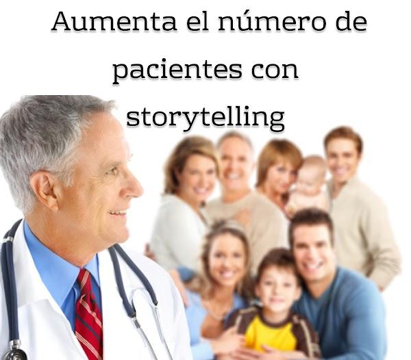 Aumenta el número de pacientes con storytelling