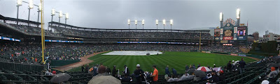 rain out, detroit tigers playoff game