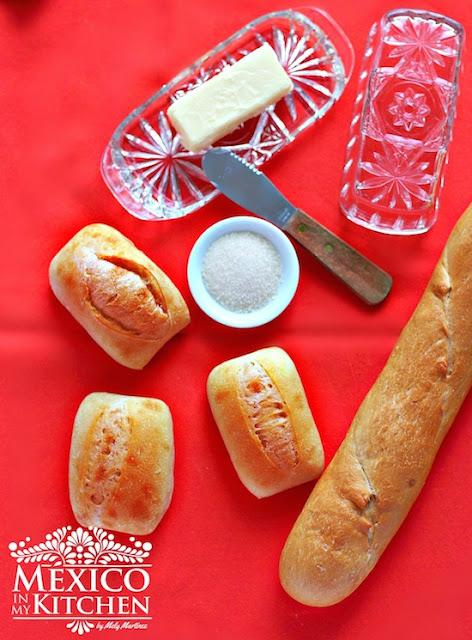 Sweet molletes recipe - molletes dulces receta