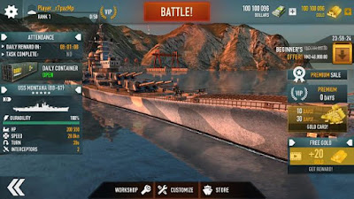 Battle of Warships Hack Cho Android
