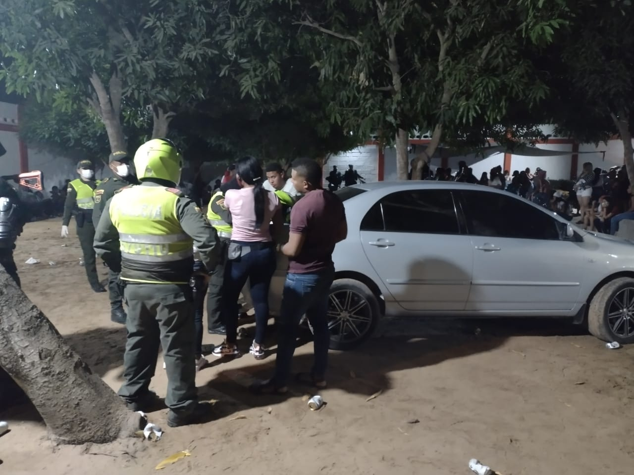 hoyennoticia.com, En Riohacha más de 200 personas estaban en una fiesta