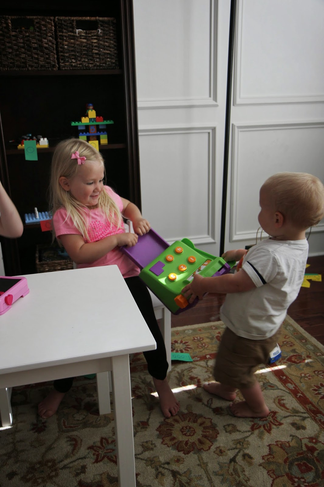 Toddler Approved Pretend Play Toy Store With Lego Bricks