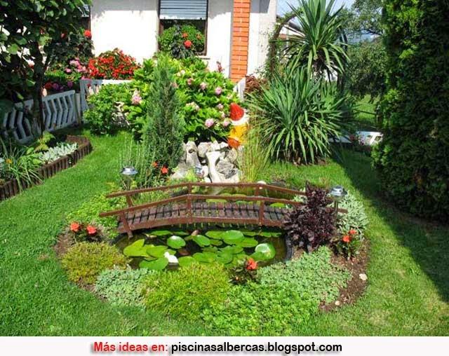 grandes jardines en pequeos espacios