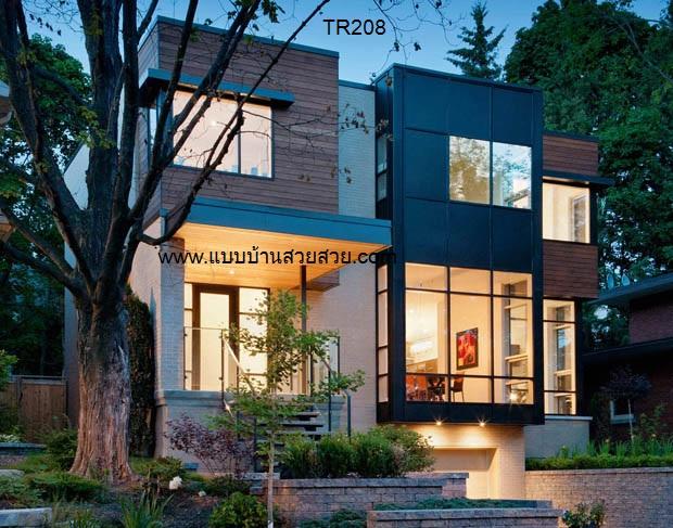 แบบบ้านสวย  บ้าน2 ชั้น TR208