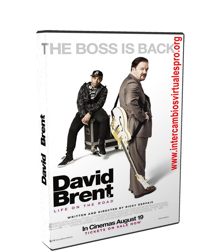 David Brent Vida en la carretera poster box cover