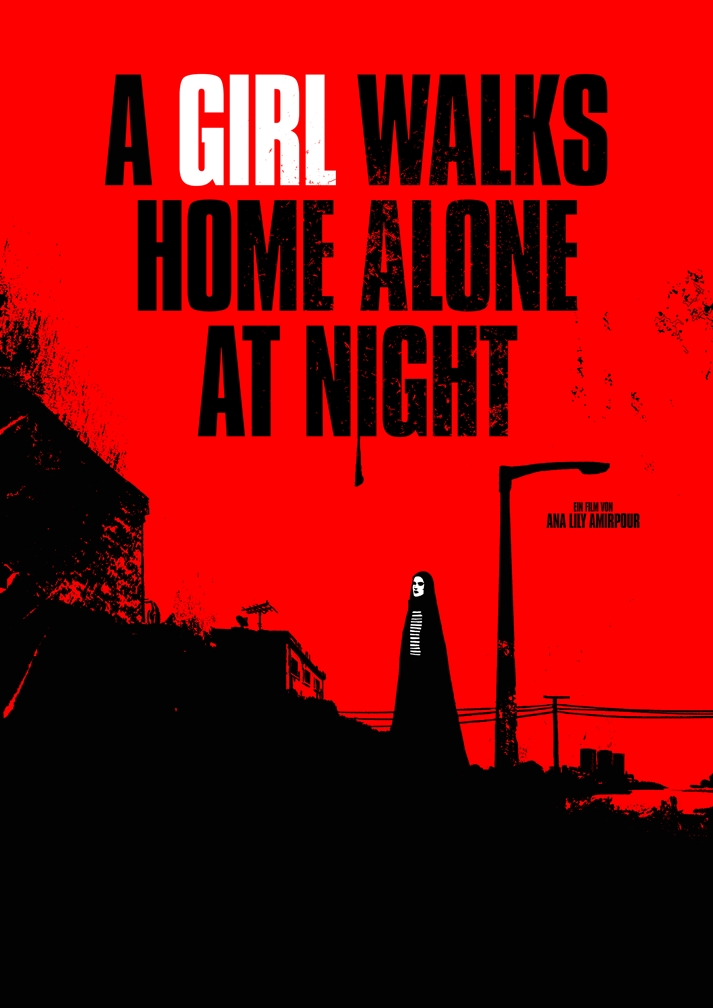 Póster: A Girl Walks Home Alone at Night