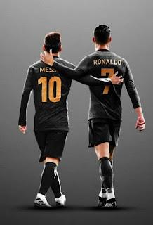 I love football ❤I love both ❤😘 #CR7.